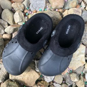 Black crocs shoes size 1